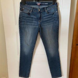 Levi's Denizen Modern Skinny Jeans Size 12